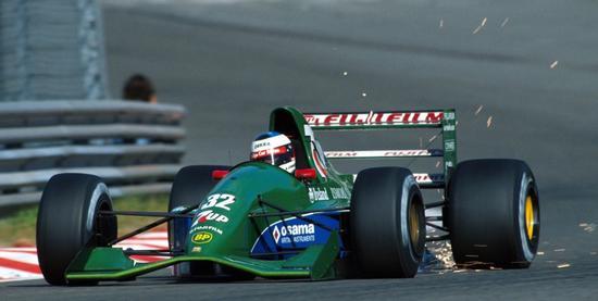 1991年的乔丹F1赛车