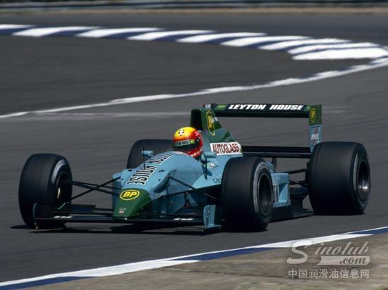 1991年的Leyton House F1赛车
