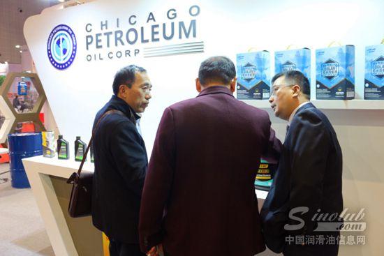 美国库驰CACHIE润滑油火爆亮相2016上海法兰克福汽配展