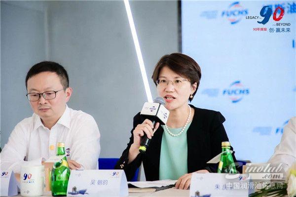 福斯中国首席运营官吴朝昀女士