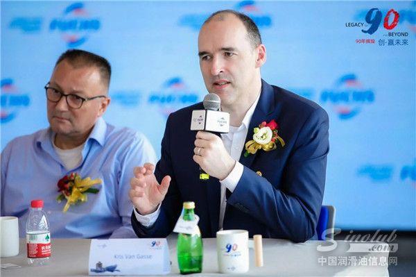 福斯中国首席技术官Kris Van Gasse先生