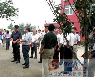 济宁市任城区组织部莅临源根石化公司调研-行