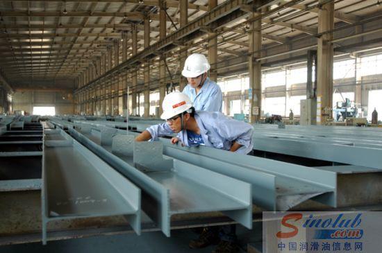 坡润滑油脂钢结构制作
